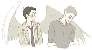 Dean and Castiel ✔