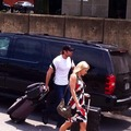 Dean and Renee arriving at Raw in Richmond, Virginia