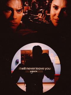 Delena - I promise u, I will never leave u again