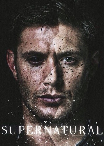 Supernatural wolpeyper probably containing a portrait called Demon!Dean