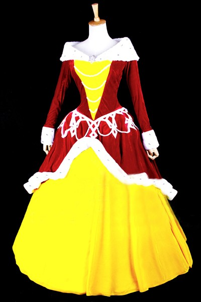 ディズニー Beauty and the Beast Belle cosplay costume