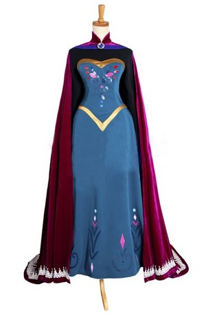 Disney Frozen Queen Elsa cosplay costume