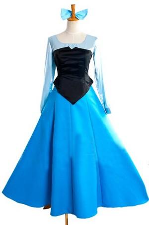 Disney the Little Mermaid Ariel cosplay costume