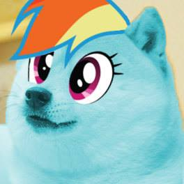 Doge Rainbow Dash