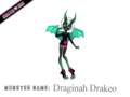 Draginah Drakeo - monster-high fan art