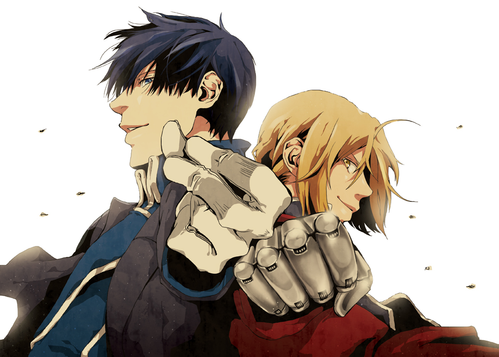 Edward Elric and Roy Mustang - Edward Elric Fan Art