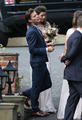 Eleanor and Louis at Jay's wedding