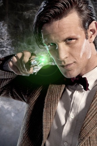 The Eleventh Doctor karatasi la kupamba ukuta entitled Eleventh Doctor