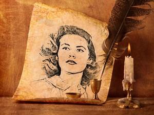 Elizabeth Montgomery. A magic portrait…