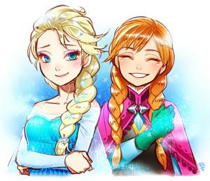 एल्सा और एन्ना