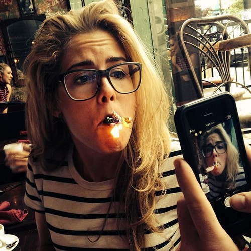 Emily Bett Rickards wallpaper entitled Emily's birthday