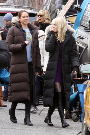Emma Stone and Shailene Woodley in The Amazing Spider-Man 2