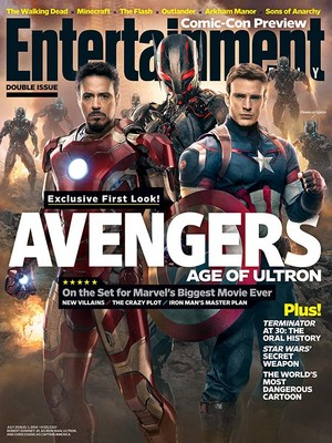 Entertainment Weekly Cover - Avengers: Age of Ultron