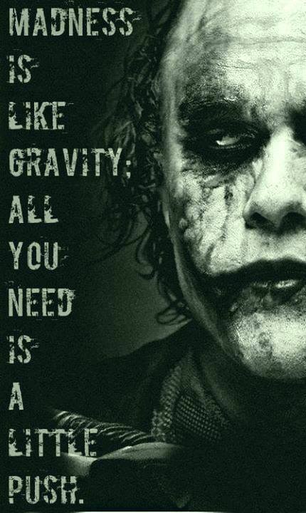 Joker Love Quotes : Heath Ledger Batman Quotes. QuotesGram