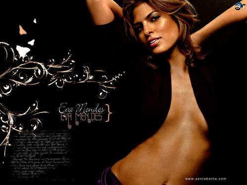 eva mendes wallpaper probably containing a portrait called Eva Mendes