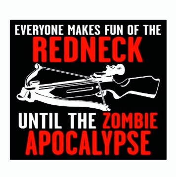 Zombies wallpaper containing anime titled Everyone Makes Fun of the Redneck...