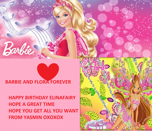 FOR elinafairy hppybday