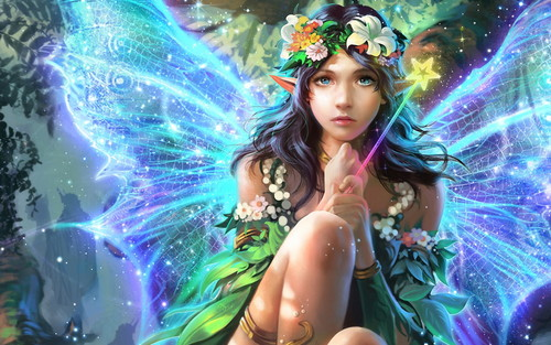 Fantasy wallpaper titled Fairy