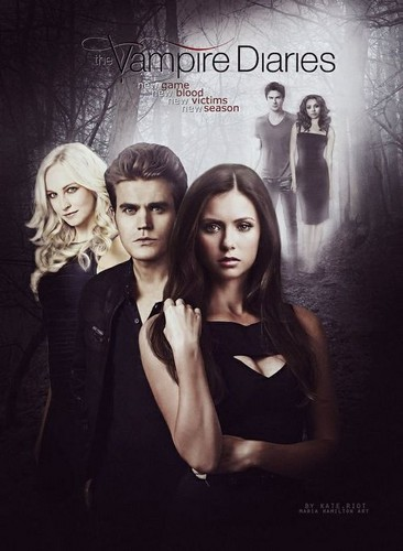 the vampire diaries série de televisão wallpaper possibly containing a portrait entitled Fan-made Season 6 Poster