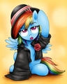 Fancy Rainbow Dash