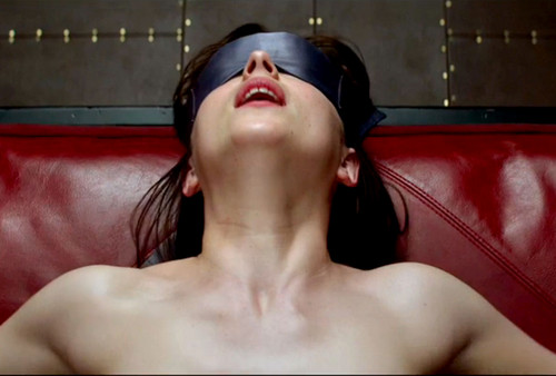 Fifty Shades of Grey wallpaper containing skin titled Anastasia Steele