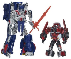 First Edition Optimus Prime and Sideswipe