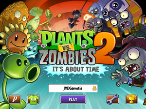 First Screenshot for Plants vs. Zombies 2