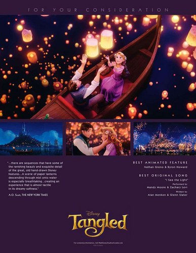 Tangled kertas dinding entitled For Your Consideration: Tangled Poster