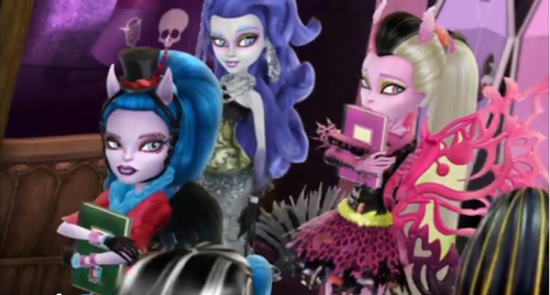 Monster High Wallpaper Possibly Containing Anime Entitled Freaky Fusion Trailer Screenshots