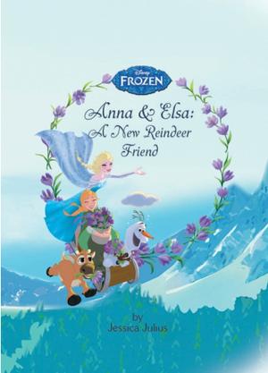 Frozen - A New Reindeer Friend Book