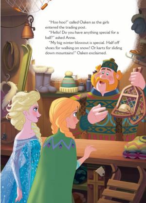 La Reine des Neiges - A New Reindeer Friend Book