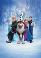 La Reine des Neiges Cast Poster