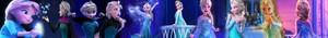 La Reine des Neiges Elsa (Banner)