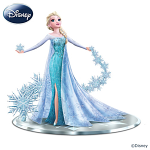 "La Reine des Neiges ""Let It Go"" Elsa The Snow Queen Figurine"