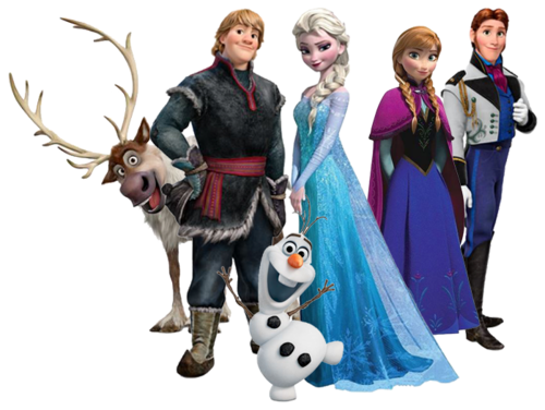 Frozen achtergrond entitled Frozen (Transparent)
