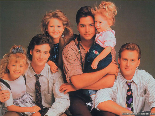 Full House wallpaper possibly with a well dressed person and a portrait titled Full House