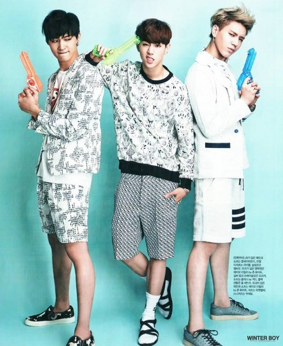 GOT7 দেওয়ালপত্র entitled GOT7 Singles Magazine August 2014
