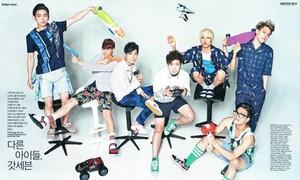 GOT7 Singles Magazine August 2014