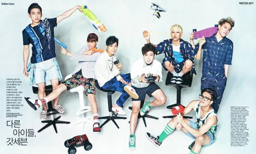 GOT7 fondo de pantalla titled GOT7 Singles Magazine August 2014