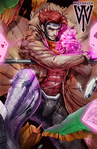 Gambit wolpeyper containing anime called Gambit