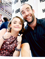Rory McCann and Maisie Williams - game-of-thrones fan art