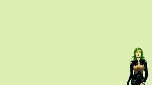 Guardians of the Galaxy 바탕화면 titled Gamora 바탕화면