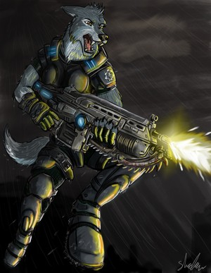 Gears of War Furry (M)