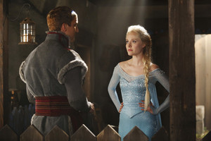 Georgina Haig as Elsa on Once Upon a Time