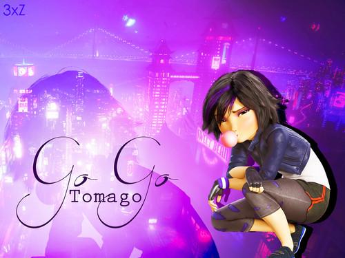Big Hero 6 Hintergrund titled GoGo Tomago Hintergrund
