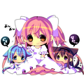 Goddess Madoka and her nekos