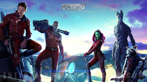 Guardians of the Galaxy 바탕화면 titled Guardians of the Galaxy