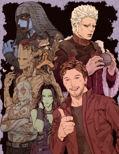 Nebula Gotg Fan Art - Pics about space