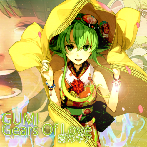 Gumi (Vocaloids) fondo de pantalla containing anime titled Gumi Megpoid