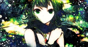 Gumi (Vocaloids) 壁纸 possibly containing 日本动漫 entitled Gumi vocaloid